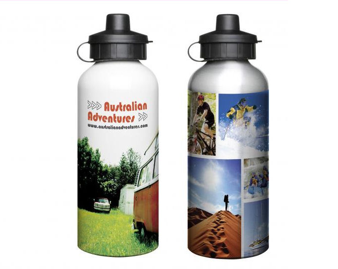 Aluminium Sports Bottle 600ml