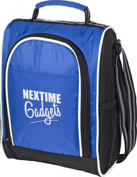 Sporty insulated lunch cooler bag